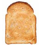 トースターを温めてからパンを焼く